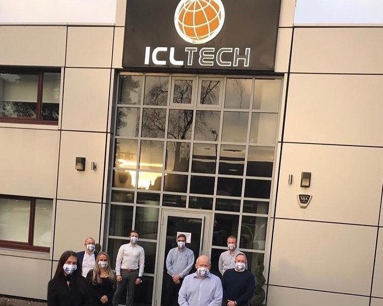 ICL Tech team outside their offices