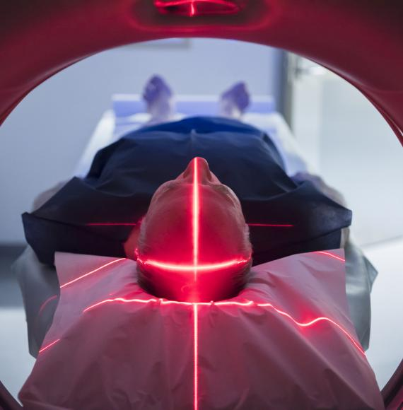 Medical imagery scanning machine