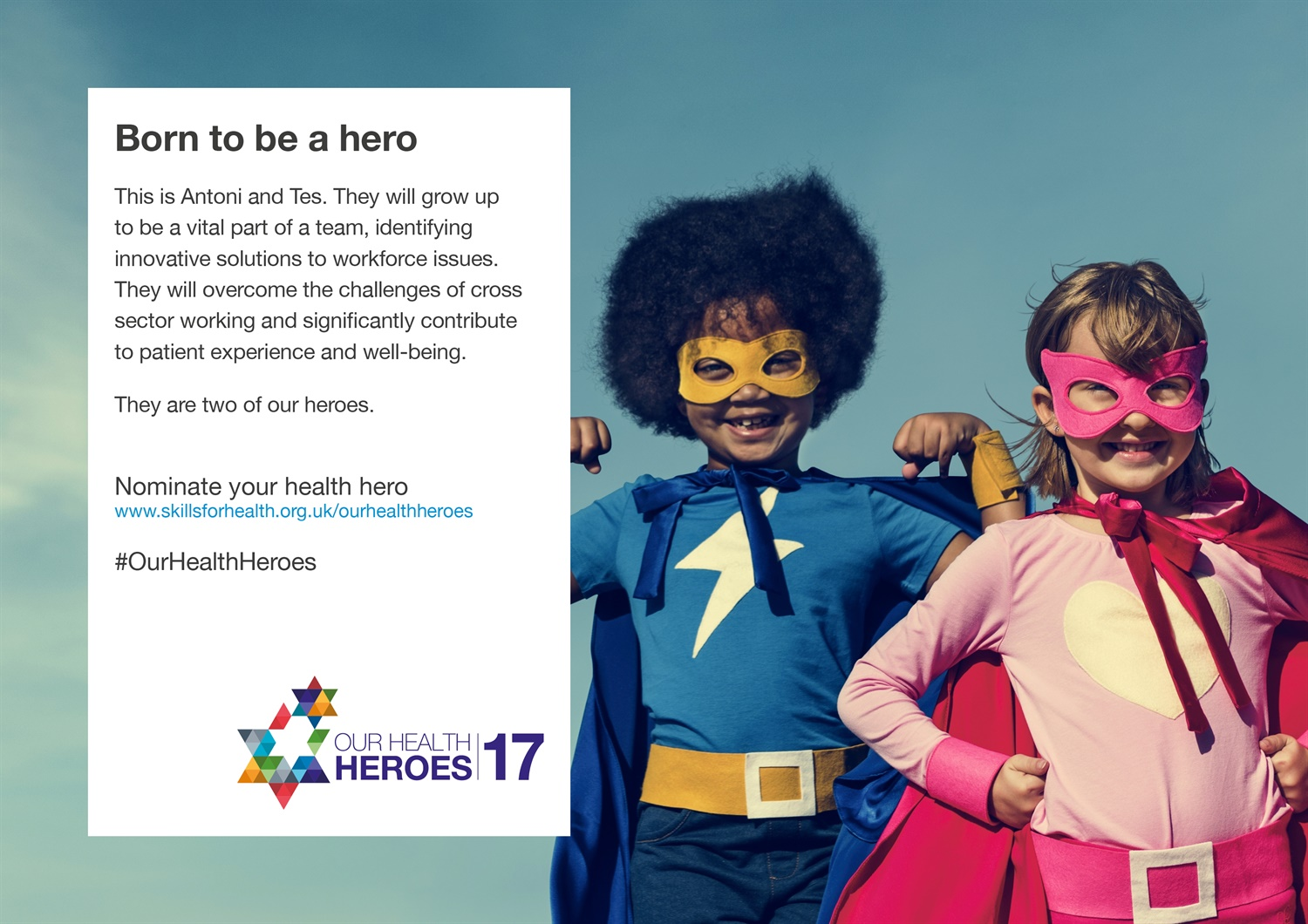 We need your Health Heroes!
