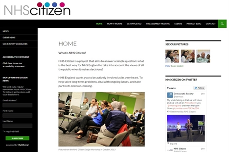 The NHS Citizen Assembly