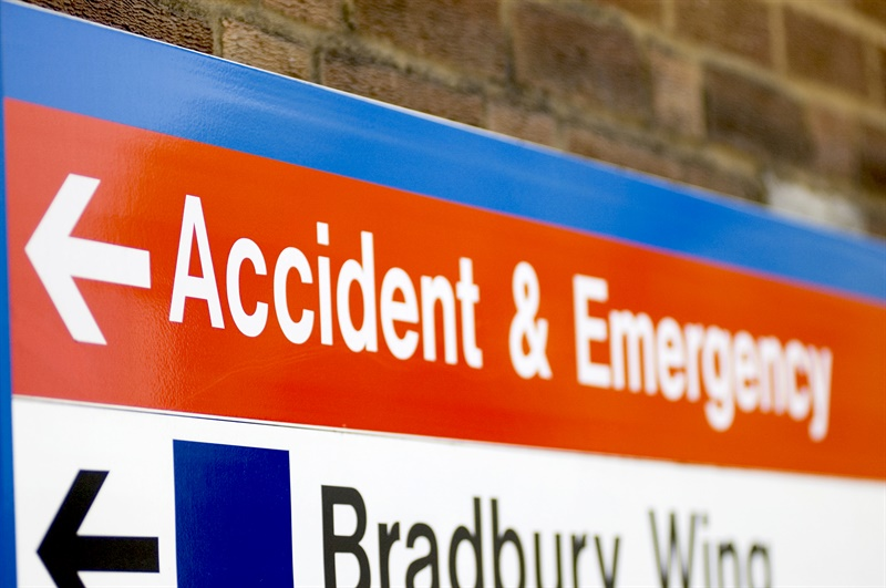 NHS struggles to cope with surge in A&E visits