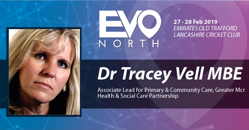 Blog: 5 minutes with Dr Tracy Vell MBE, Associate Lead for Primary and Community Care, Greater Manchester, Health and Social Care Partnership.