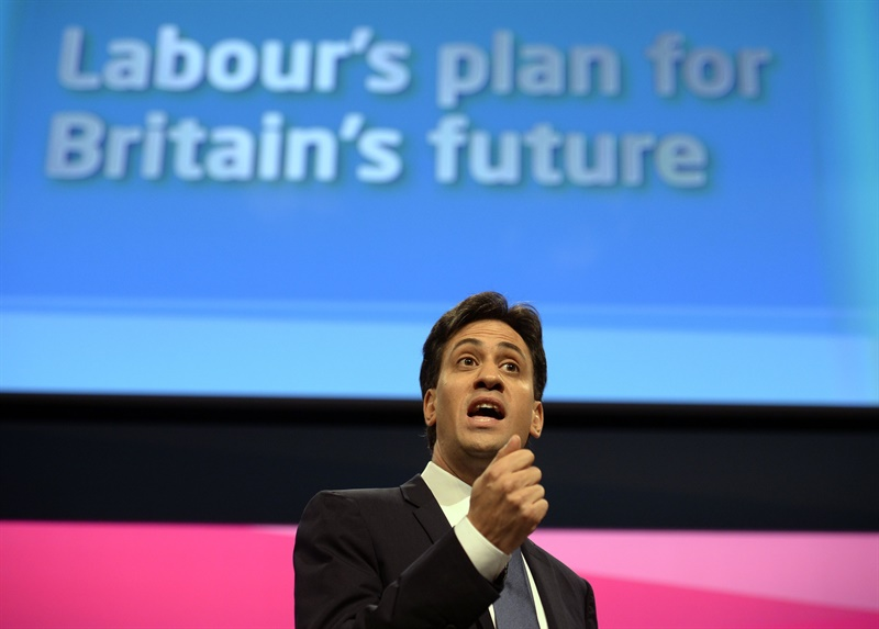 Miliband announces new £2.5bn 'time to care' fund for NHS