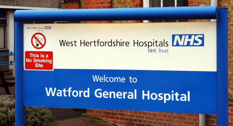 watford general hospital postcode