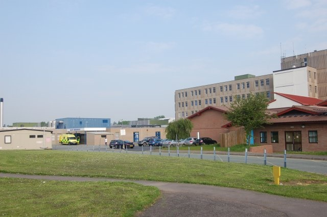 Royal Shrewsbury Hospital from Car Park   geograph.org.uk   793005 - Shrewsbury and Telford NHS Trust fined over 'potentially lethal' asbestos exposure at its hospital
